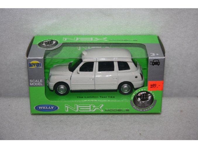 Autíčko kovové The London Taxi TX4