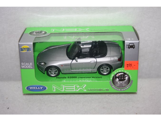 Autíčko kovové Honda S2000