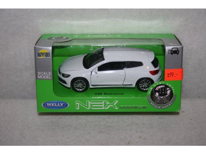 Autíčko kovové VW Scirocco
