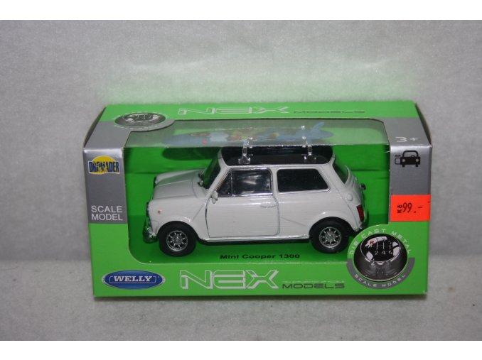 Autíčko kovové Mini Cooper 1300