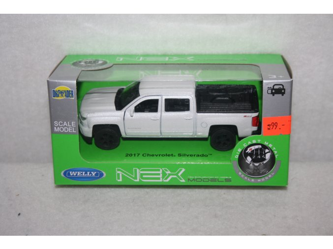 Autíčko kovové Chevrolet Silverado