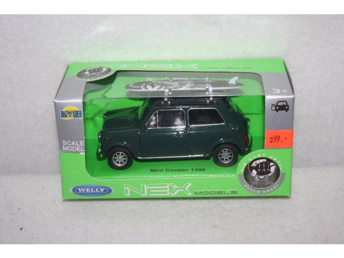 Autíčko kovové Mini Cooper