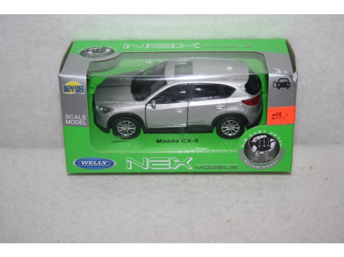 Autíčko kovové Mazda CX-S