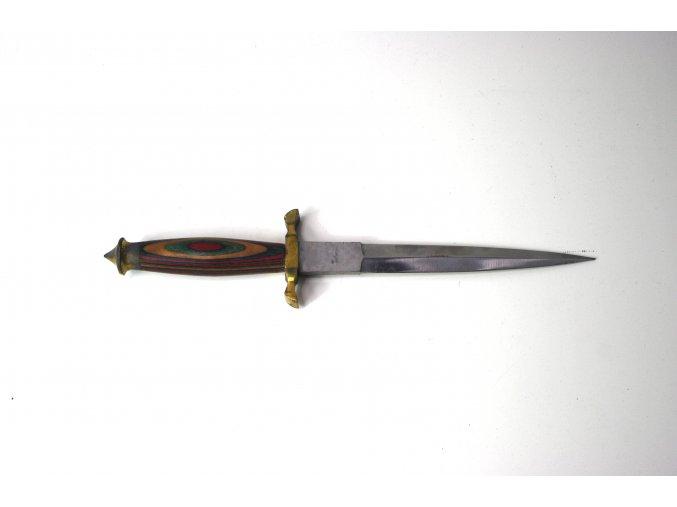 Dýka se zdobenou rukojetí Pakistan komando dagger