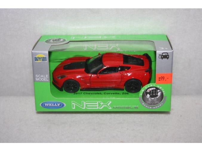 Autíčko kovové Chevrolet Corvete
