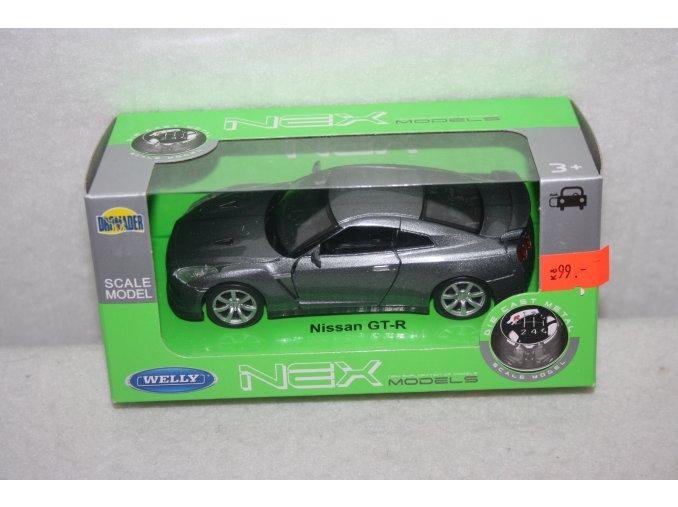 Autíčko kovové Nissan GT-3