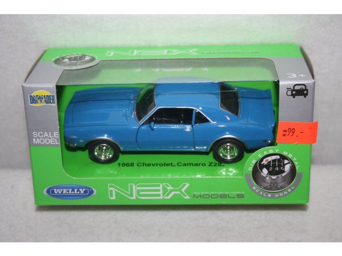 Autíčko kovové Chevrolet Camaro