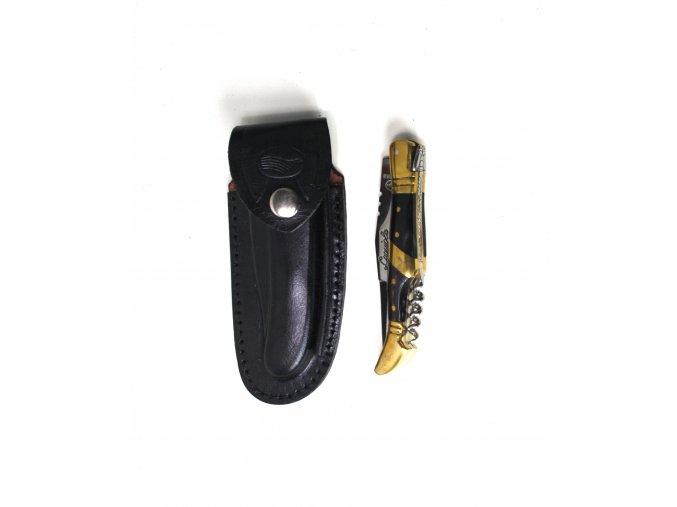 US Laguiole Nůž zlato-černý