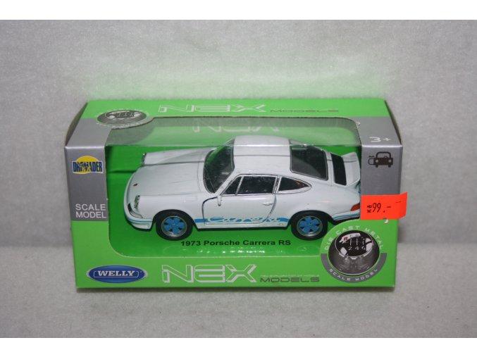 Autíčko kovové Porsche Carrera