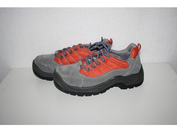 Pracovní obuv, boty LOW - šedé