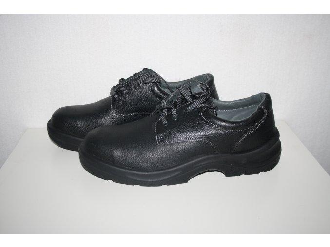 Pracovní obuv, boty Astra - černé