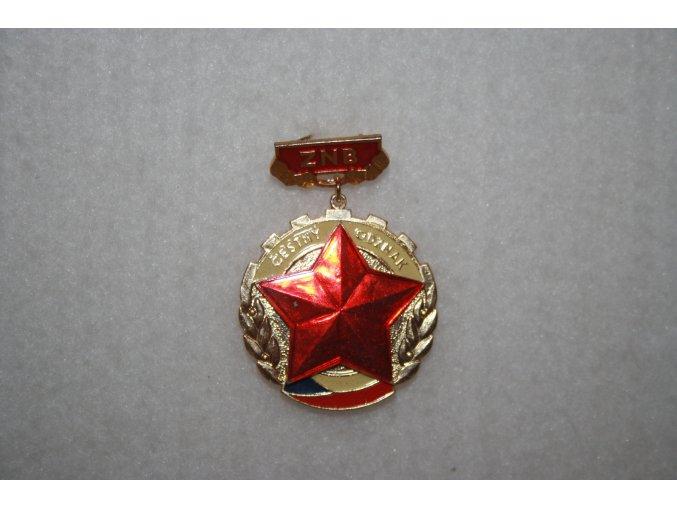 Čestný odznak ZNB
