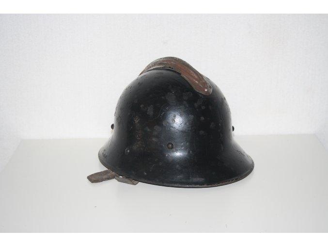 Kovová hasičská helma Požárník - originál