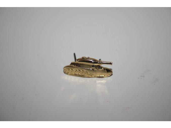 Odznak ČSLA - tank zlatý