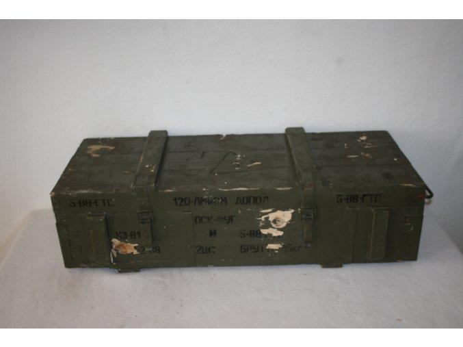 Bedna dřevěná muniční OF 120M