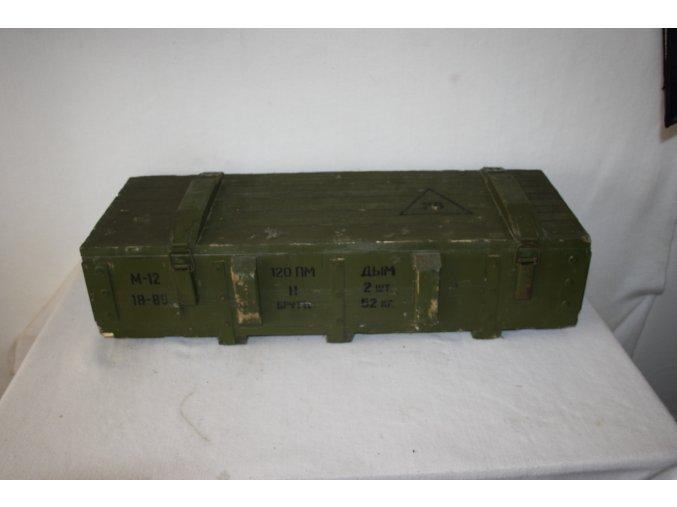 Bedna dřevěná muniční M-120
