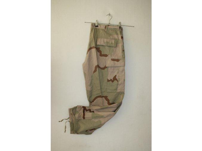 Kalhoty US COMBAT - 3 Col Desert