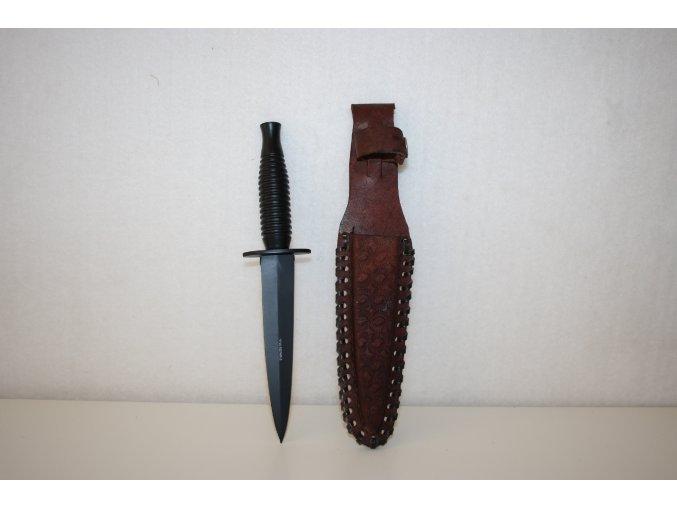 Nůž oboustranný STAINLESS STEEL - černý
