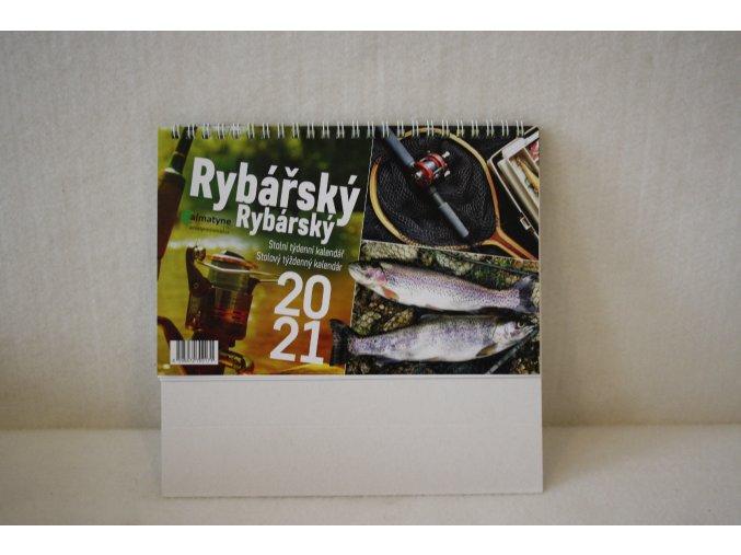 Rybářský stolní kalendář