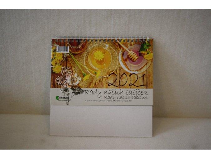 Stolní kalendář Rady našich babiček