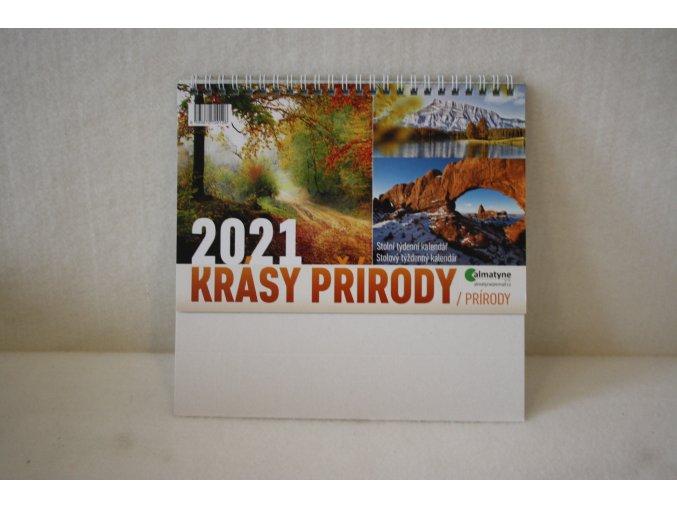 Stolní kalendář Krásy přírody