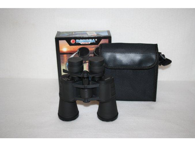 Dalekohled binokulární RONGDA 10x -90x50 - černý