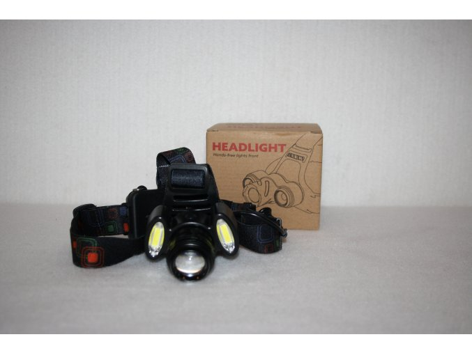 Čelovka LED/ZOOM, dobíjecí HEADLIGHT