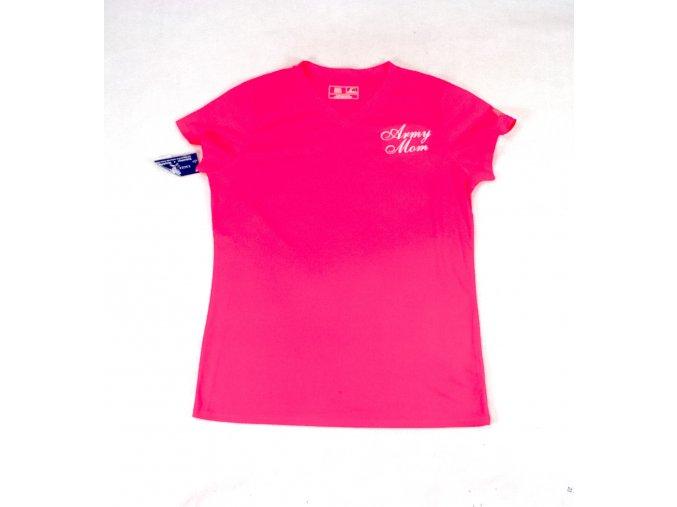 Dámské tričko, triko New Balance Army Mom růžové