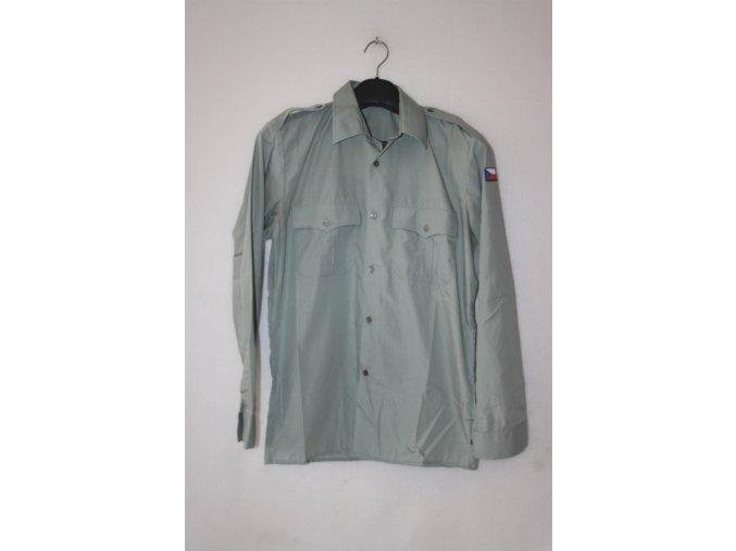 Košile AČR vz.97 dlouhý rukáv - zelená