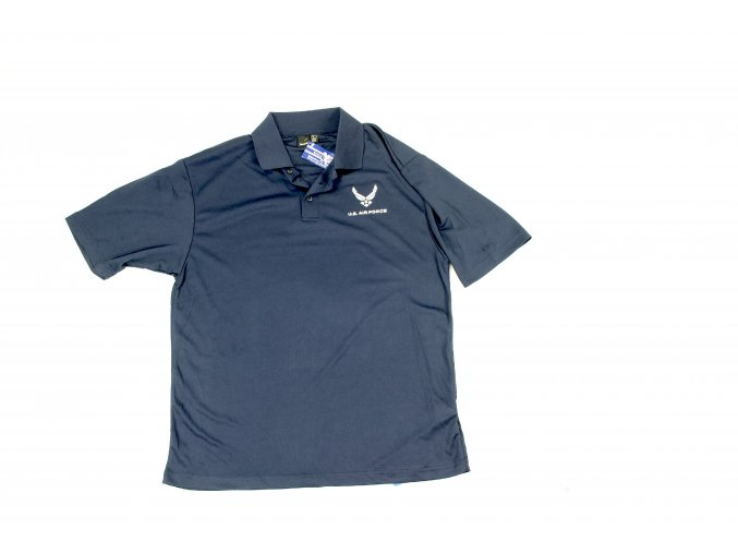 Tričko, triko Polo Anvil U.S. Air Force - modré
