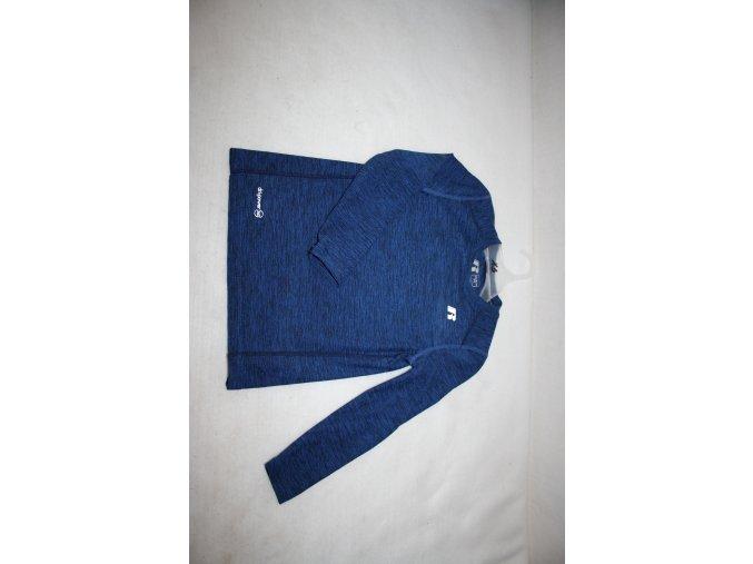 Dětské funkční triko s dlouhým rukávem Russell - modré