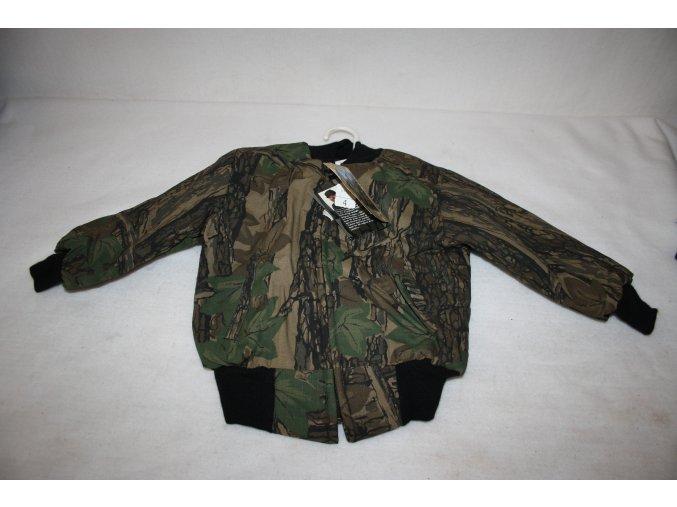 Dětská zimní bunda PATRIOT - Trebark grey