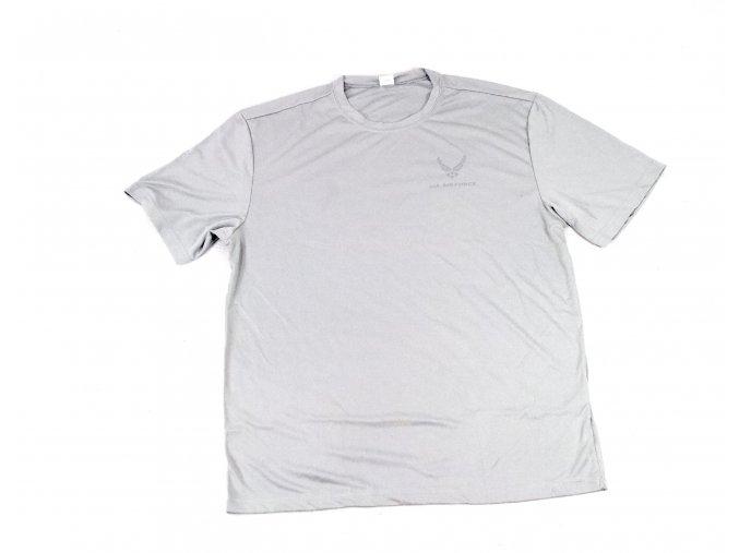 Triko, tričko Sport-Tek U.S. Air Force  - šedé