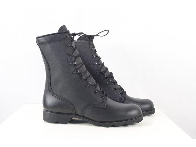 Boty Altama černé kožené U.S. Army