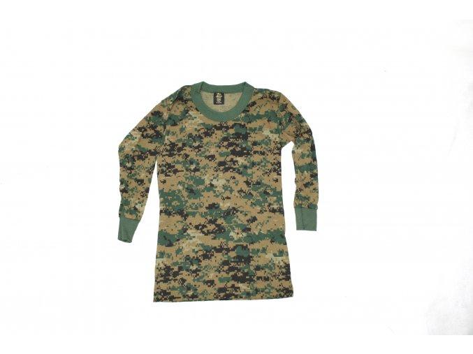 Dětské tričko s dlouhým rukávem Tee Swing - marpat