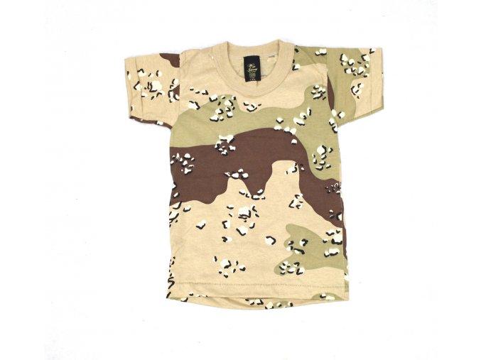 Dětské tričko Tee Swing - 3 COL desert