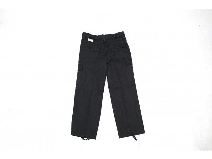 Dětské kalhoty US - černé