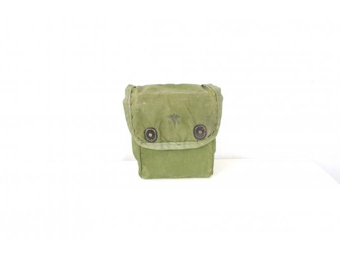 Lékárnička polní USMC First Aid Kit, Individual s krabičkou - oliv