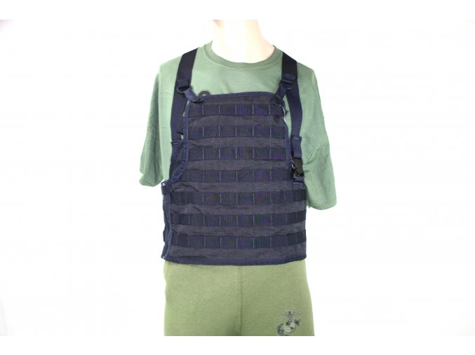 Taktická vesta RACK MOLLE II- SDS - midnight blue