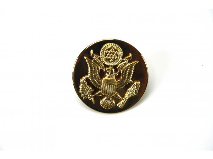 Odznak US zlatý Branch of Service Insignia