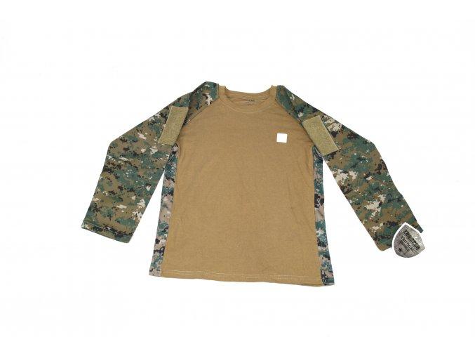 Dětské tričko, triko s dl. rukávem Trooper Tactical - MARPAT