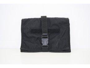 Sumka pro osobní potřeby US Flat Individual pouch - černá