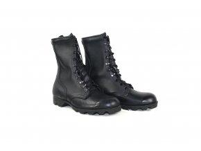 Boty US celokožené - černá