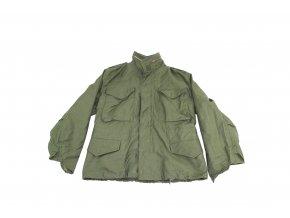 Polní kabát, bunda M65 - předváděcí - oliv