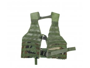 Taktická vesta US MOLLE II FLC - woodland