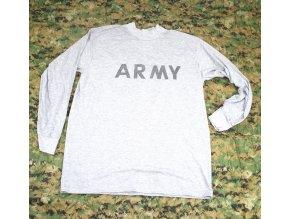 Tričko, triko UNICOR dl. rukáv - šedé