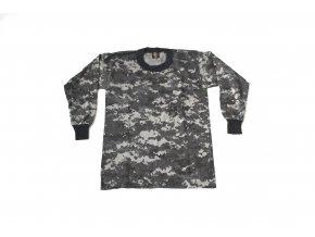 Dětské triko s dlouhým rukávem značky Tee Swing - night digital