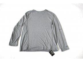 Triko pánské s dlouhým rukávem Swiss Tech - šedé