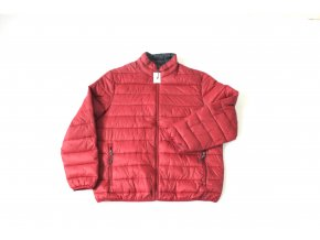 Pánská lehká prošívaná bunda Swiss Tech - červená 880f6fb488