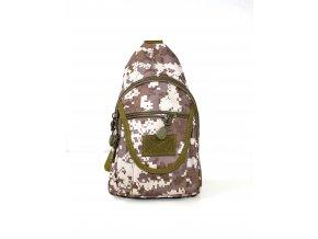 Batoh (taška) přes rameno - brown digital